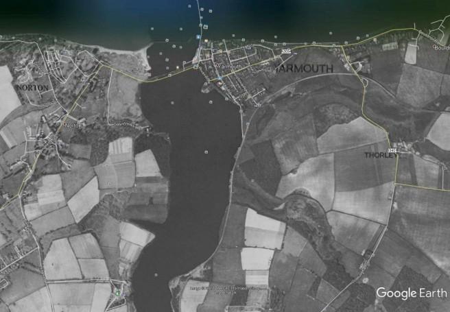 Yar estuary - 1948